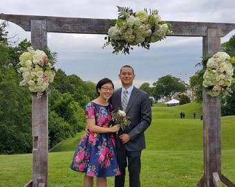 Wedding Arch-Locally Sourced & Locally Made