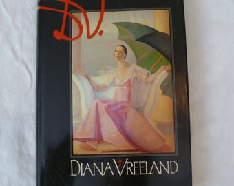 D.V. by Diana Vreeland, first edition hard cover book