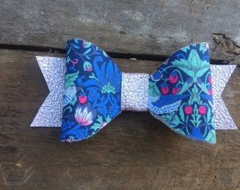 Liberty of London, Hair bow, hair clip, floral hair bow, floral hair clip