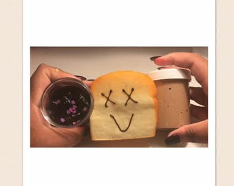 Peanut butter and jelly slime duo