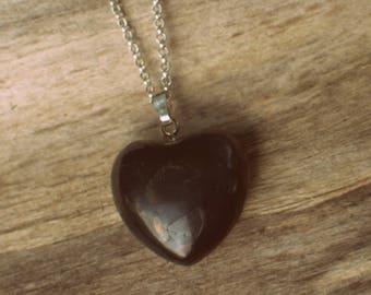 Shungite Heart Necklace