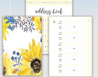 Sunflower Address Book