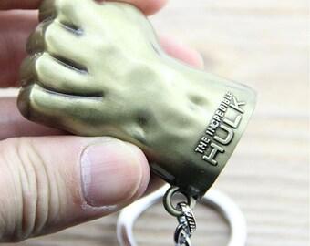 Marvel Super Hero Avengers Hulk Keychain Key