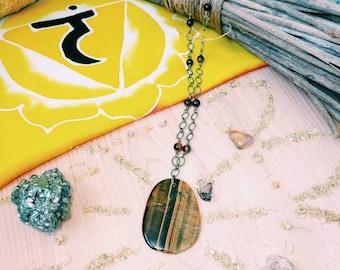 Tiger's Eye ~ Solar Plexus Necklace