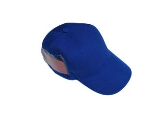 Royal Blue Baseball Hat with Pockets