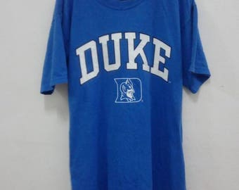 Discount 15% Off!! USD28 Include Shipping!! DUKE Blue Devil University Sportwear T Shirt.