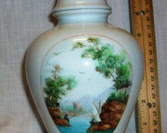"Listing 94 is an 8""H Royal Bavarian Urn Vase"