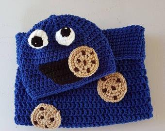 Sesame Street Cookie Monster Baby Cocoon