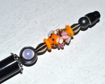 "Pearl jewel pen ""AMPHORA"""