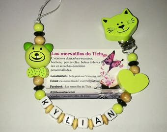 """Personalized pacifier """"Teddy"""""""