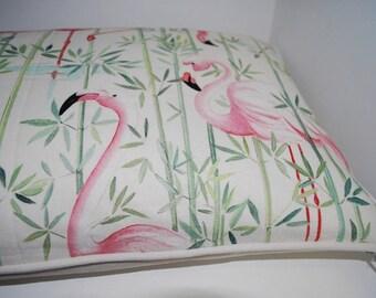 Pink flamingos Cushion cover