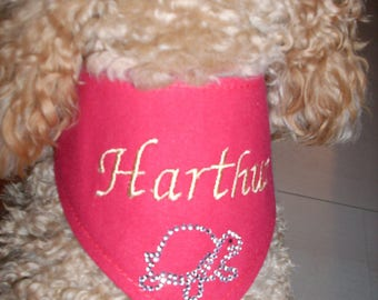 Scarf tie for your custom dog XXS - XS - S - M