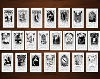 The Occult Detective Skrá Tarot Major Arcana