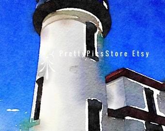 Admirality Lighthouse Puget Sound