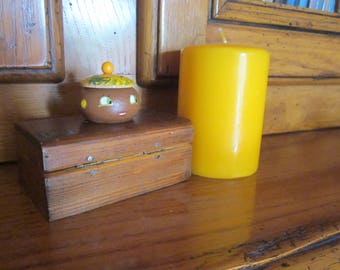 Wooden tooth box: the Martinique