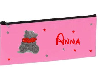 Personalized with name pink school Teddy bear Kit