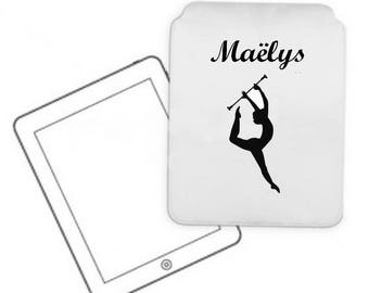 Cover for tablet pc cheerleader personalized with name