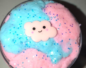 Cloud 9 cloud Slime ~ Cotton Candy cloud slime scented