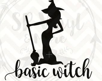 Basic Witch Bundle SVGs for Halloween