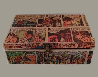 Marvel Keepsake Wooden Box
