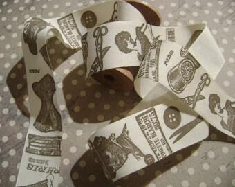 Patterned cotton Ribbon