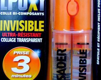 Glue mark SADER bi EPOXY resin component 3 minutes time