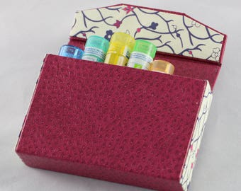 "Case ""Tamalou"" tubes homeopathy"