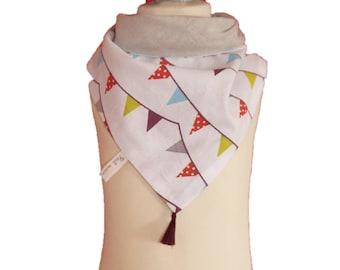 Kit sewing kids scarf