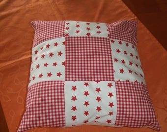 PATCHWORK SQUARE PILLOW