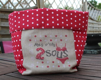 Storage bag for the Red bottom