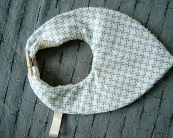 clothespin bandanat mini clip shaped baby bib