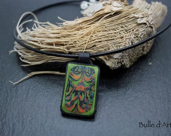 Necklace - muticolore - polymer clay