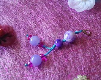 Jewelry bag or key ring bead
