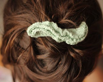 Crochet hair clip