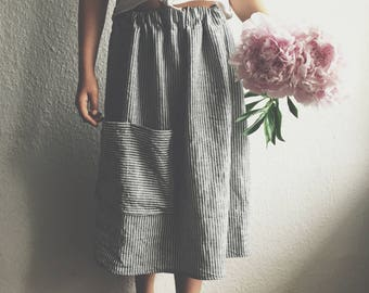 Linen Skirt for Kids