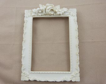 Frame rectangulaireen resin blank