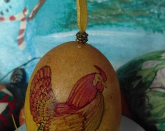 Vintage Ornaments Home Decor ImaJeanarium Egg Art