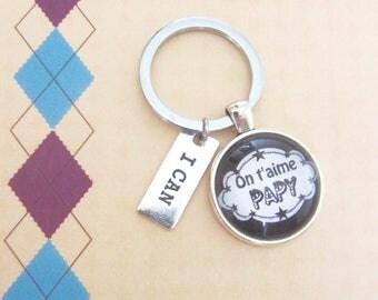 """Gift for Grandpa: doors-keys """"We love you Grandpa"""""""