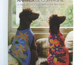 """Book new knitting """"pets. The bible of pet accessories""""Sally Muir and Joanna Osborne the"""