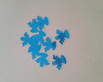 Angel blue confetti