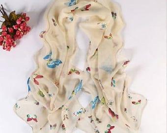 Scarf print scarf Large shawl stole