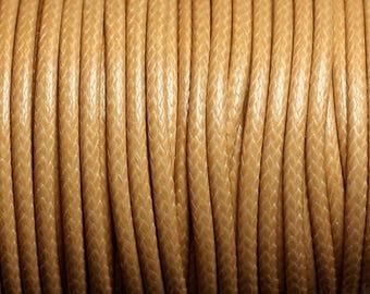 3 m - 3mm Beige 4558550002235 wax cotton cord