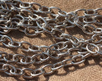 1 medium - chain stainless steel 304L - large oval 9 x 6 x 1.2 mm 4558550005670