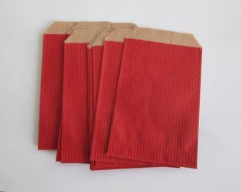 5 RED 7 X 12 BAG