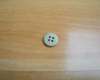 blue color round flat buttons