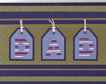 Adult Male Birthday Card - D.A.D