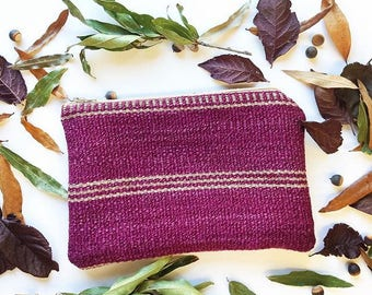 Purple Clutch | Handmade | Sustainable | Jasmine Clutch