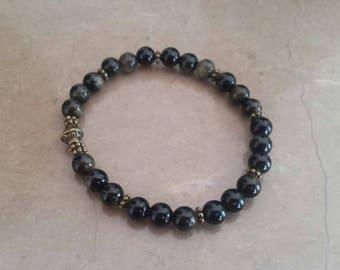 Golden Obsidian (6 mm beads) bracelet