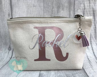 Personalised Make Up Bag, Bridal Gift, Special Occasion