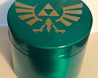 Zelda's Triforce 40mm Alloy Herb Grinder